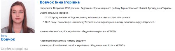 Наймолодша депутатка із Тернопільщини вийшла заміж (ФОТО)