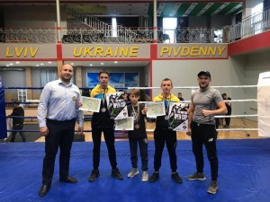 Юні майстри тайського боксу з Тернополя здобули престижні нагороди