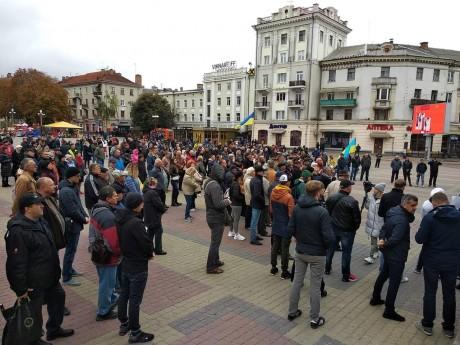 У Тернополі зібралося віче (ФОТО, ВІДЕО)