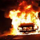 На Тернопільщині посеред дороги загорівся автомобіль