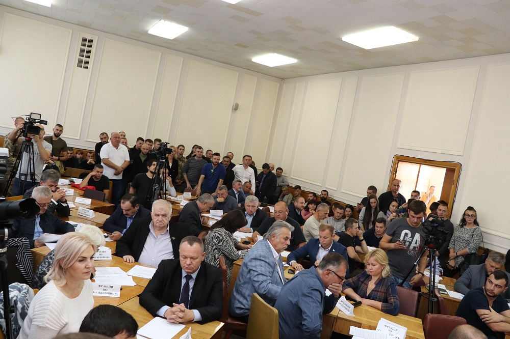 Депутати Тернопільської обласної ради напрацювали дві політичні заяви