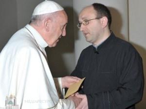 Папа Франциск затвердив священика з Тернопільщини на високу церковну посаду