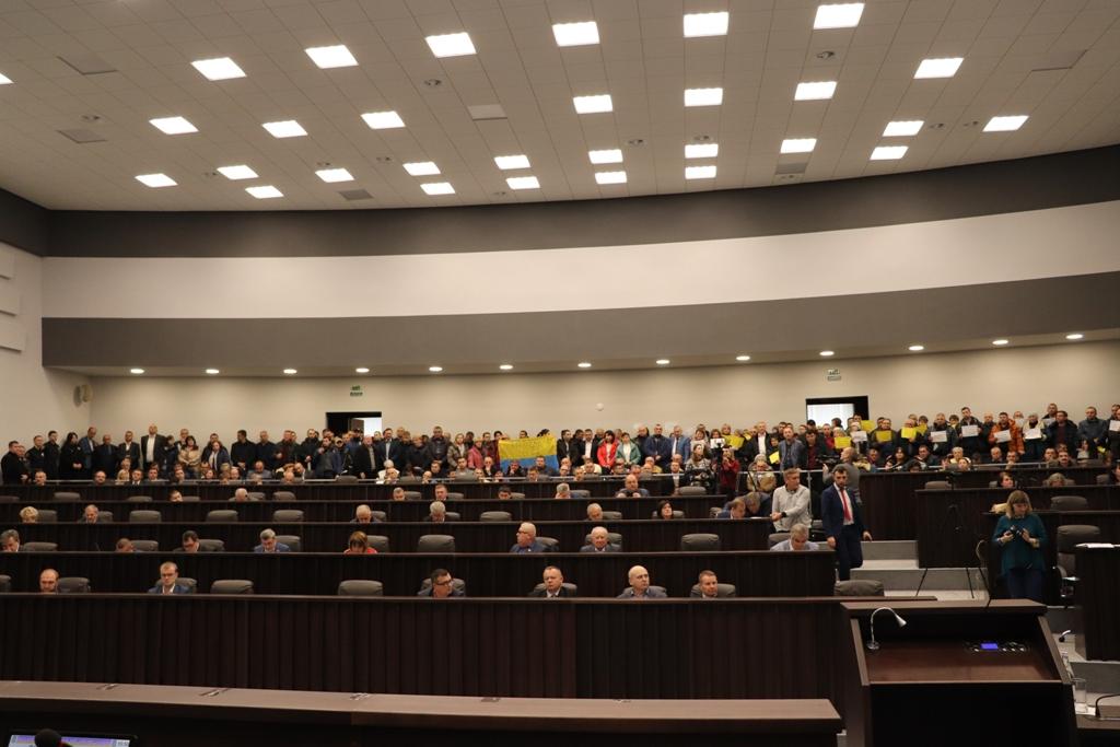 Депутати  обласної ради висловились проти ліквідації Тернопільської області