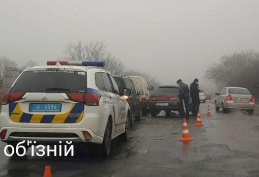 У Тернополі масштабна аварія на об'їзній (ВІДЕО)