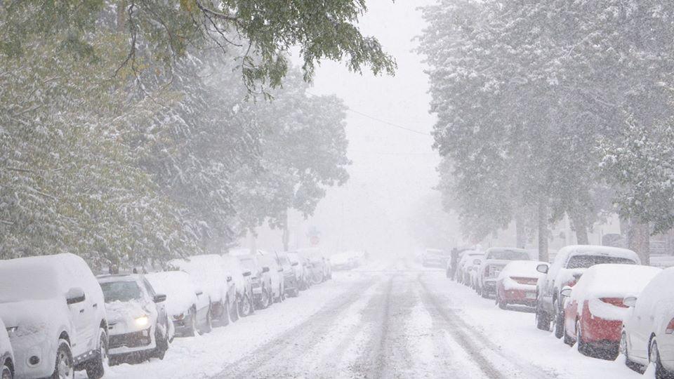 Увага! Погіршується погода: передають сніг, мокрий сніг та ожеледицю