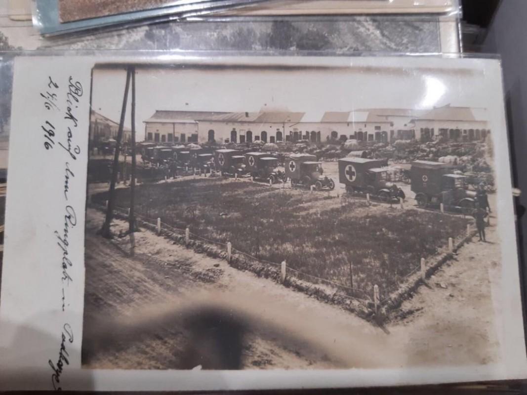 Показали унікальні фото колони Червоного Хреста на Тернопільщині у 1916-му році (ФОТО)