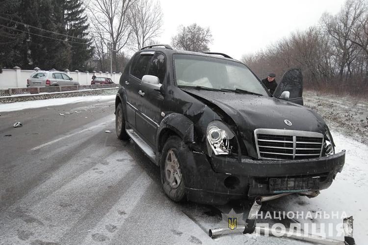 На Тернопільщині у аварію потрапив інструктор з учнями (ФОТО, ВІДЕО)