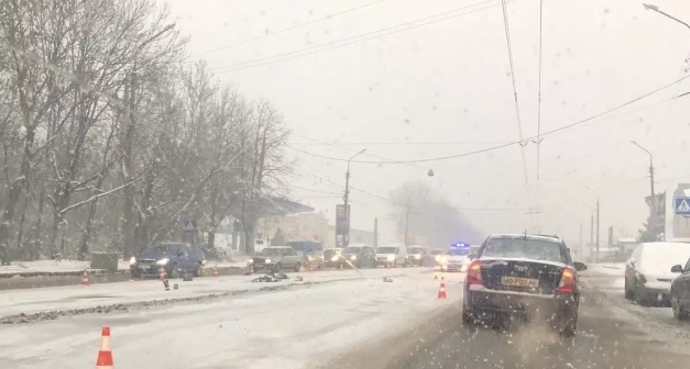 У Тернополі на смерть збили пішохода (ФОТО)