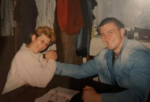 Дружина Андрія Пушкаря оприлюднила цікаву світлину чемпіона (ФОТО)