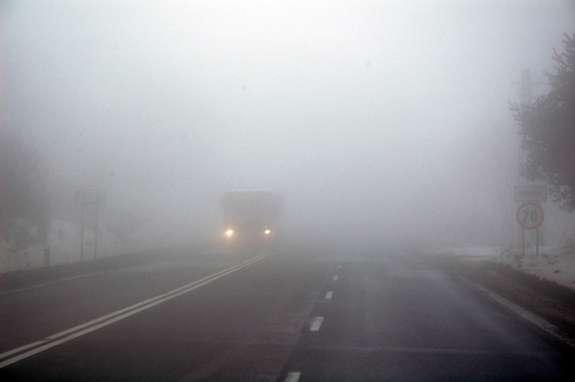 Увага! Рятувальники попереджають про ожеледицю та сильний туман
