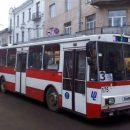 У Тернополі призупинять рух тролейбусів за одним маршрутом