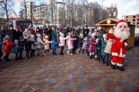 У Варшавському мікрорайоні залунала святкова коляда (ФОТО, ВІДЕО)