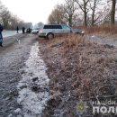 ДТП на Тернопільщині: водій протаранив дерево (ФОТО)