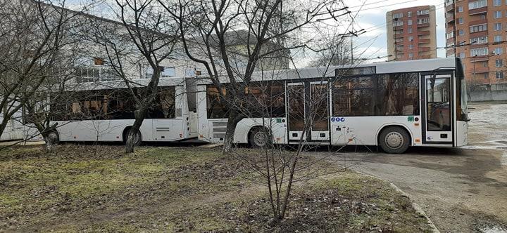 До Тернополя прибув перший десяток новеньких автобусів з Білорусі (ФОТО, ВІДЕО)