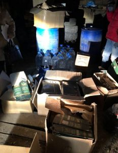 На Тернопільщині закрили ще два підпільних цехи з виробництва алкоголю
