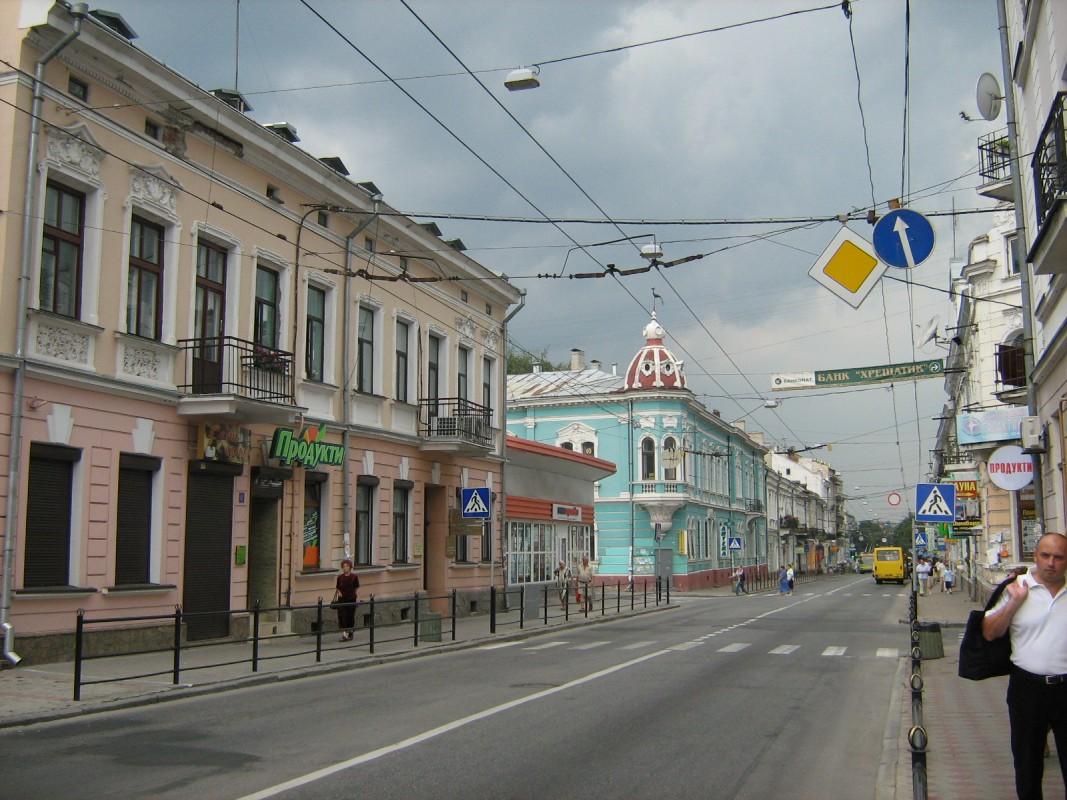 Рух центральною вулицею Тернополя хочуть зробити одностороннім (ВІДЕО)