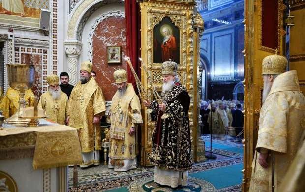 Тернопільський митрополит Московської церкви їздив в Росію святкувати інтронізацію Кирила