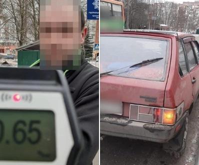 У Тернополі спіймали п'яного водія (ФОТО)