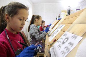 На Тернопільщині розпочалися арт-студії повітряного пензля