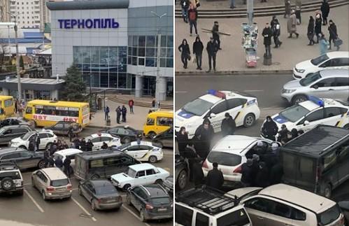 У Тернополі біля вокзалу СБУ, поліція та прокуратура спіймали на хабарі експосадовця (ФОТО)