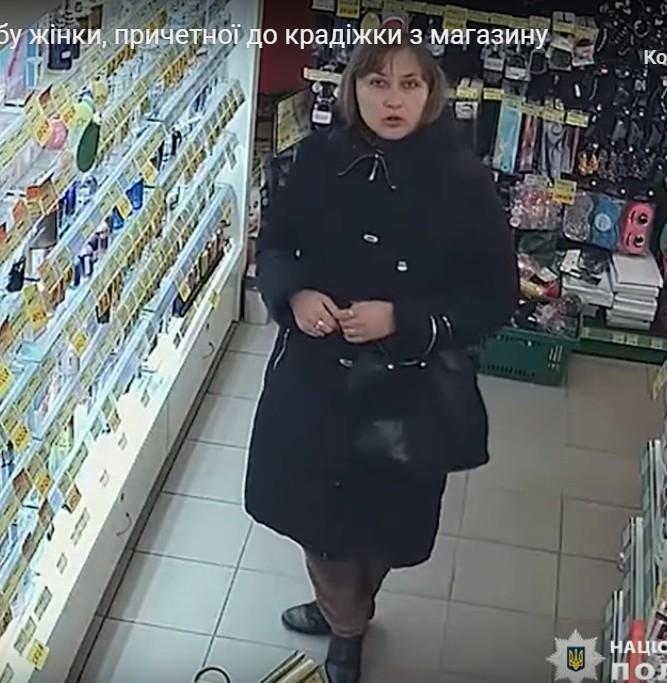 У Тернополі жінка зганьбилася у магазині (ВІДЕО)