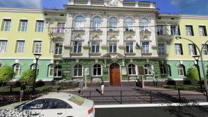 Розповіли, як буде виглядати оновлений дворик перед входом в Українську гімназію