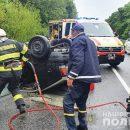 В ДТП на дорозі Тернопіль-Львів загинула людина (ФОТО)