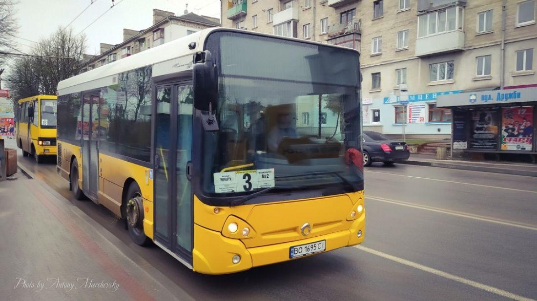"""У громадському транспорті Тернополя ловитимуть """"зайців"""""""