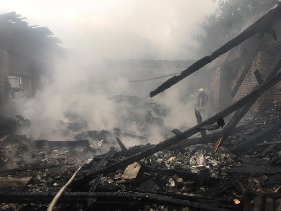 Трагедія на Тернопільщині: у вогні загинула людина (ФОТО)