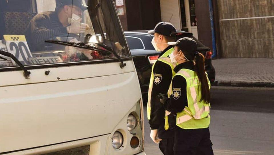 У Тернополі оштрафували водія маршрутки, який відмовився одягти маску