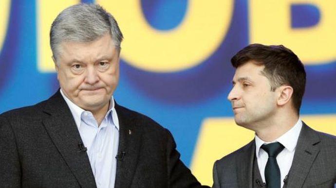 Зеленський вважає, що Порошенко хочеться бути жертвою перед місцевими виборами