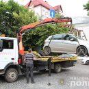 У Тернополі почали очищати вулиці від автівок