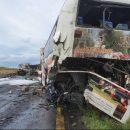 Масштабна аварія у Польщі: автобус з Тернополя зіткнувся із вантажівками (ФОТО)