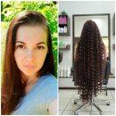 На Тернопільщині дівчина відростила волосся, довжиною 120 сантиметрів (ФОТО)