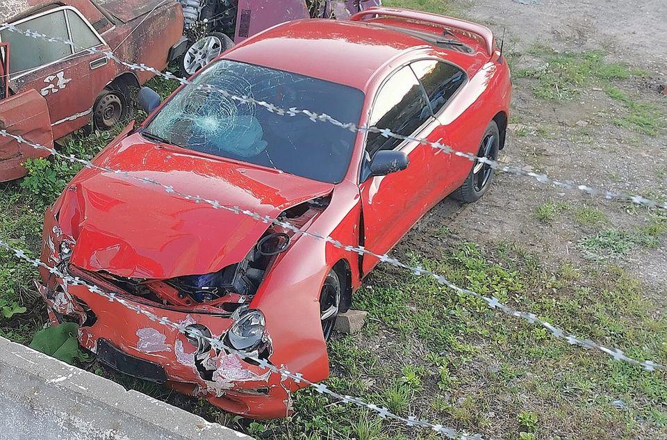 ДТП на Тернопільщині: п'яний водій ледь не збив дитину у візку (ВІДЕО)