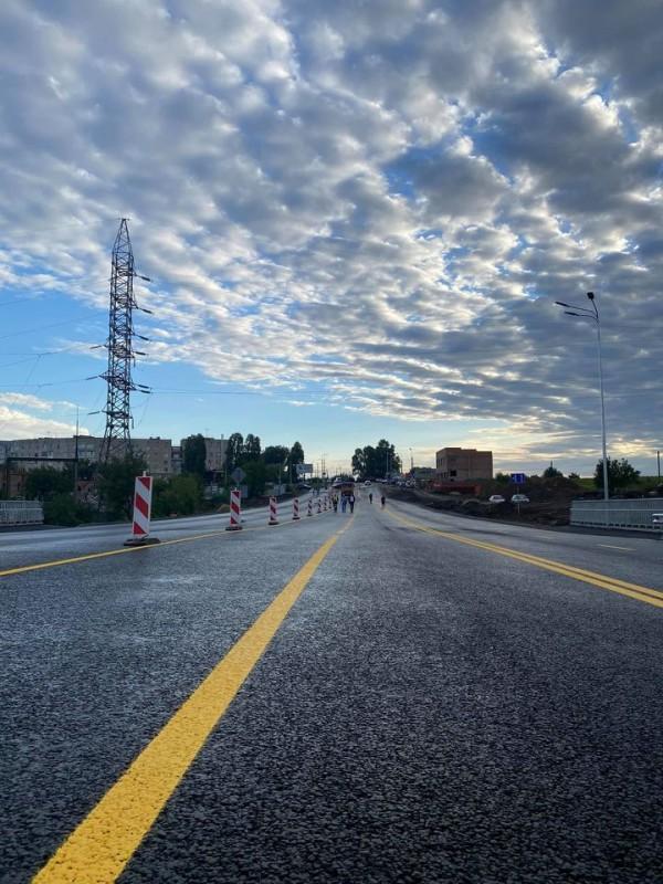 Дочекалися: у Тернополі відновили рух на Гаївському мосту (ФОТО)