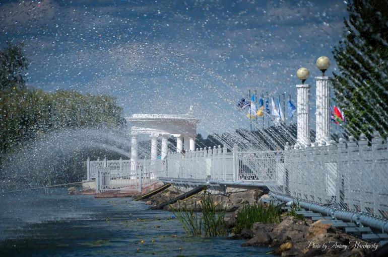 У Тернополі планують збільшити береговий аераційний фонтан