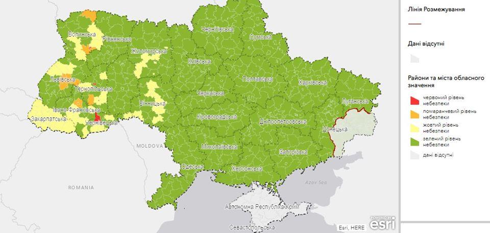 """Тернопіль внесли у """"червону зону"""": що це означає"""