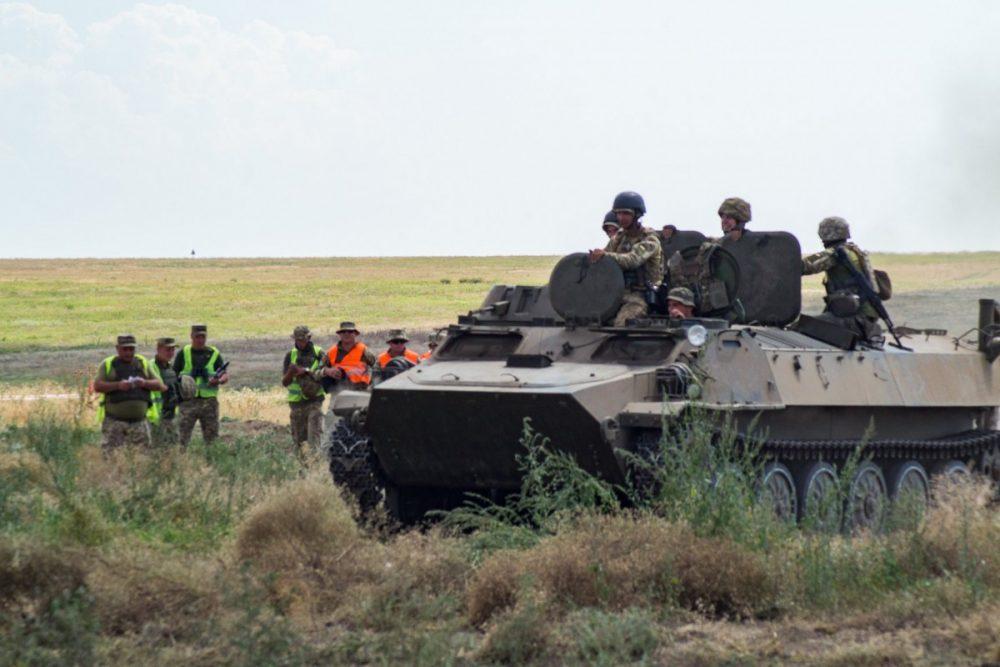 Тернопільські артилеристи отримали відзнаки від командування ООС