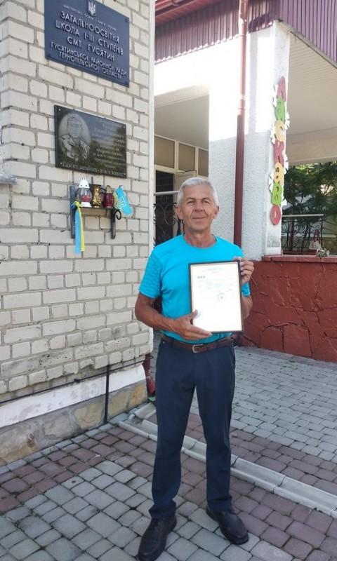 57-річний учитель географії з Тернопільщини склав ЗНО на 200 балів
