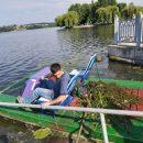 Перлину Тернополя очищали від водоростей та сміття
