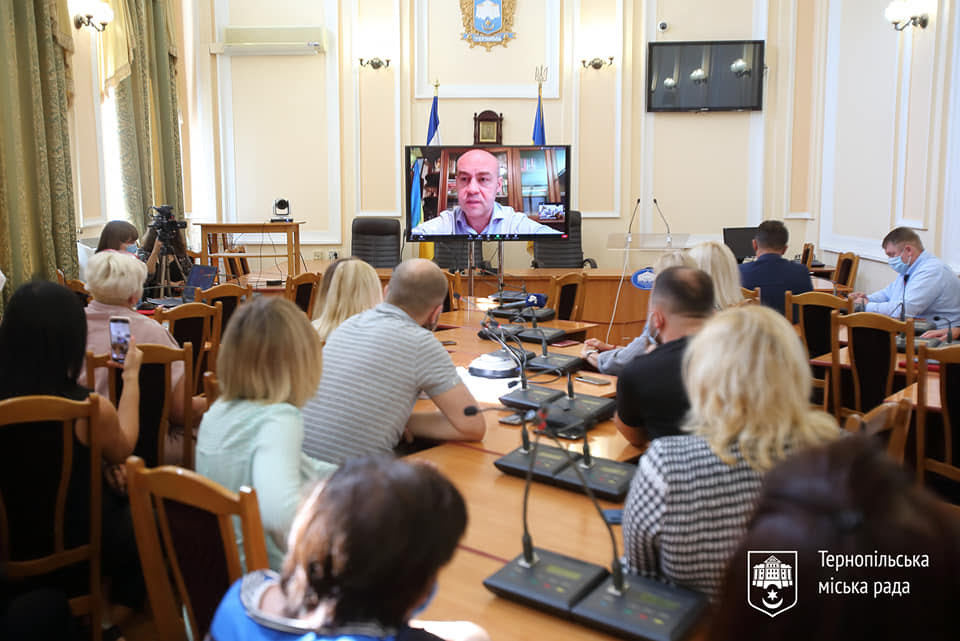 Міський голова Сергій Надал та тернопільські підприємці сказали ні «червоній зоні»