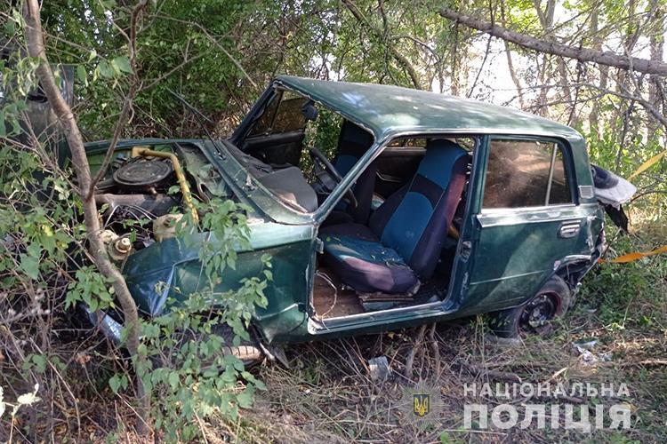 """Купа металобрухту: на Тернопільщині зіткнулися два """"ВАЗи"""" (ФОТО)"""