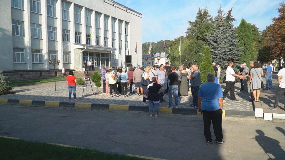 Підприємці Теребовлянщини протестують проти закриття ринків
