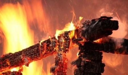 Пожежа на Тернопільщині забрала життя у людини