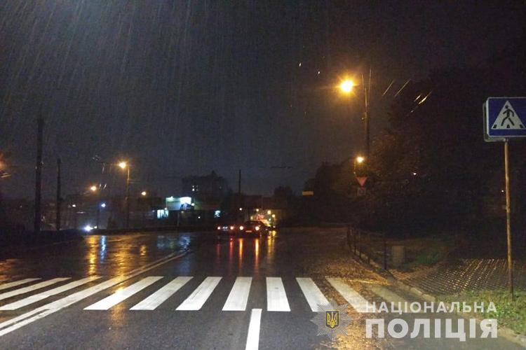 У Тернополі на Злуки збили пішохода (ФОТО)