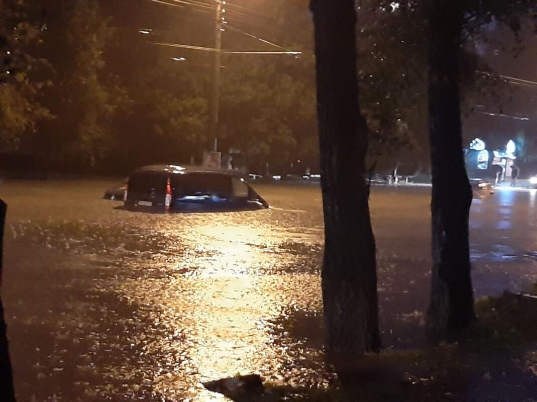 У Тернополі 6 жовтня випало понад 950 млн літрів опадів