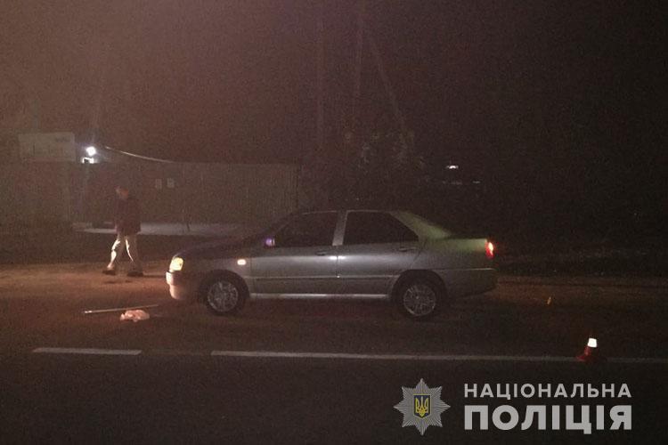 У Тернополі водій збив на дорозі бабусю (ФОТО)