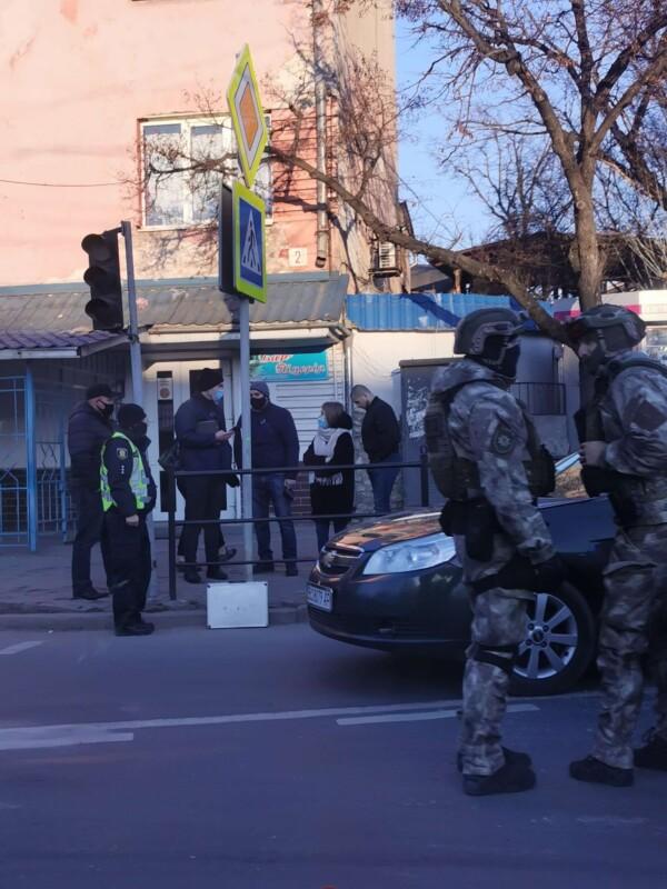 У Тернополі спецпідрозділ КОРД провів затримання особливо небезпечних злочинців (ФОТО)