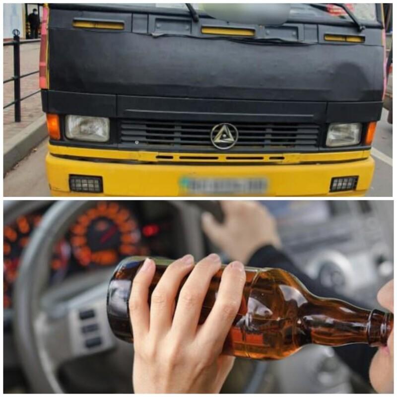 Небезпечна поїздка: у Тернополі п'яний водій маршрутки перевозив аж 33 пасажири (ФОТО)